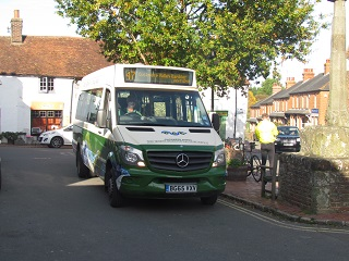 Service 47 at Market Square Alfriston